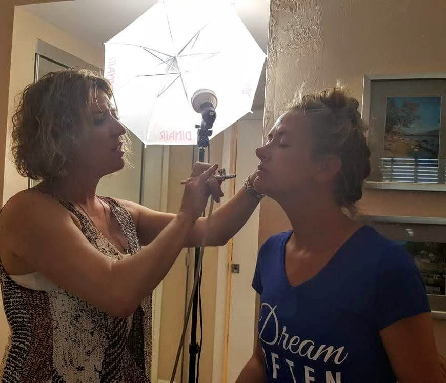 Shear Sailing Bridal Packages Hair and Makeup for Amy Jos Wedding 00