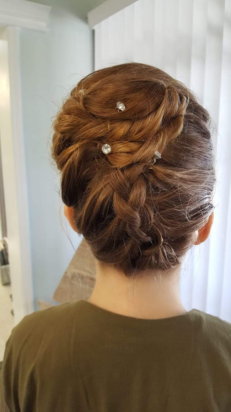 Shear Sailing Bridal Packages Hair and Makeup for Amy Jos Wedding 01b