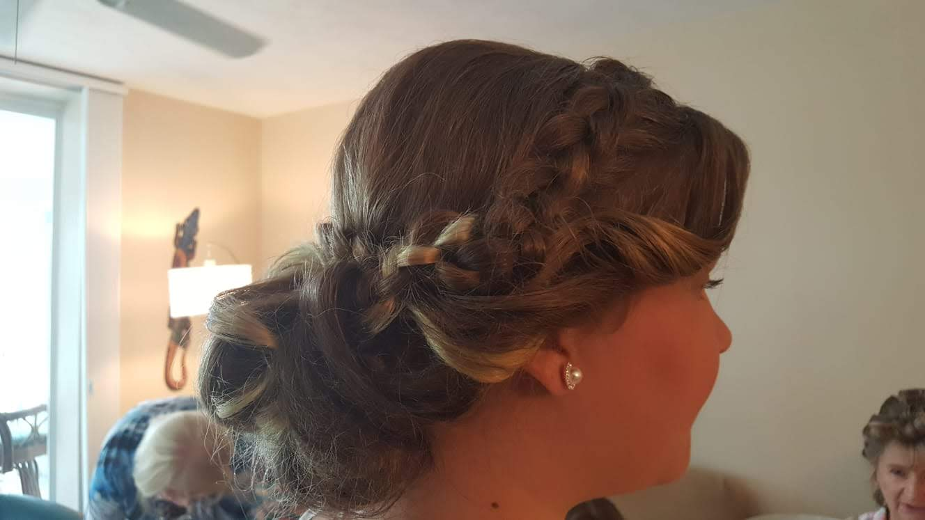 Shear Sailing Bridal Packages Hair and Makeup for Amy Jos Wedding 06