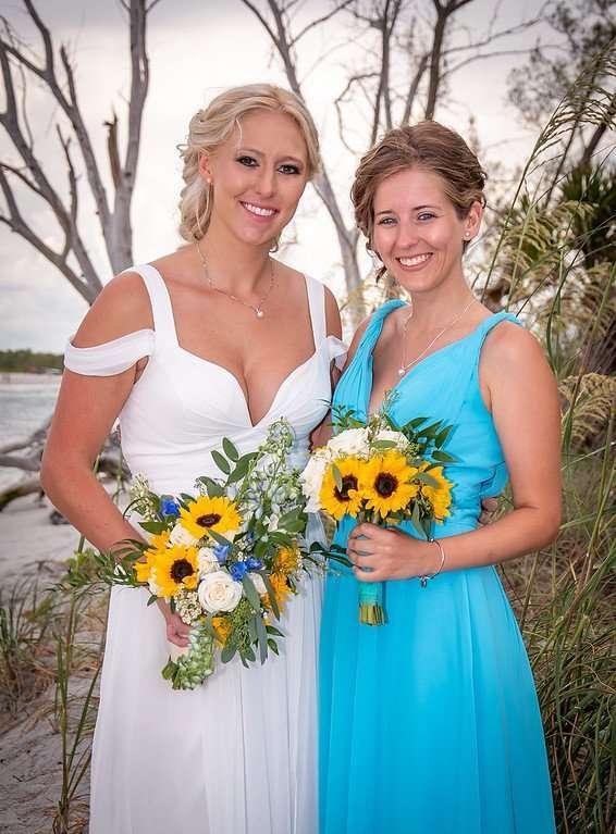 Bride Bridesmaid Hair Ellery