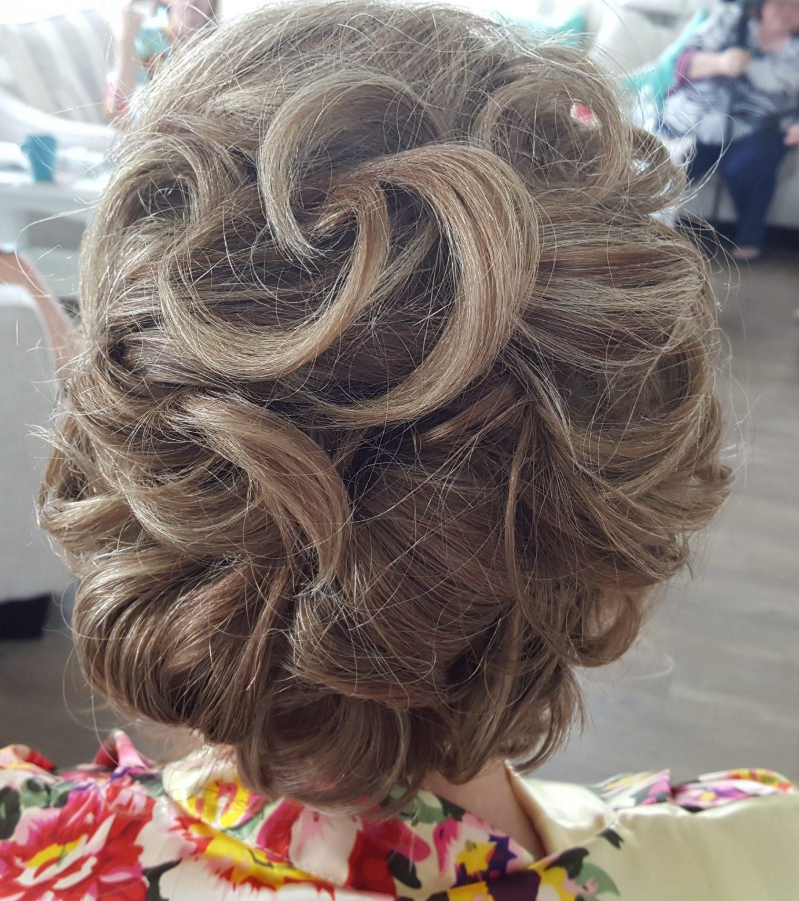 Shear Sailing Hair Salon Bridal Party Pre-Wedding Hair Services Bridal Up Do