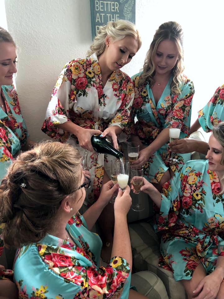 Shear Sailing Hair Salon Bridal Hair and Makeup Services - Bridal Party